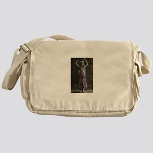 Vintage Tribal Bellydance Gir Messenger Bag