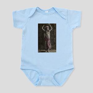 Vintage Tribal Bellydance Gir Infant Bodysuit