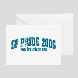 SF PRIDE 06 ARCH  Greeting Cards (Pk of 10)