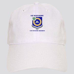 DUI - 1st Bn - 41st Infantry Regt with Text Cap
