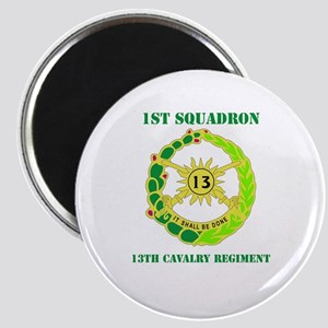 DUI - 1st Sqdrn - 13th Cav Regt with Text Magnet