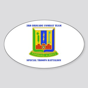 DUI - 3rd BCT - Special Troops Bn with Text Sticke