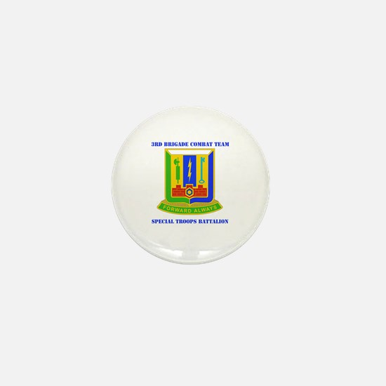 DUI - 3rd BCT - Special Troops Bn with Text Mini B