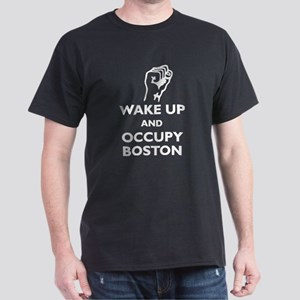 Occupy Boston Dark T-Shirt