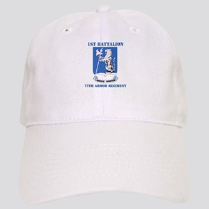 DUI - 1st Bn - 77th Armor Regt with Text Cap