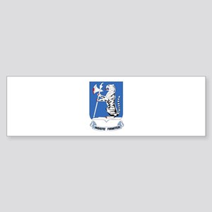 DUI - 1st Bn - 77th Armor Regt Sticker (Bumper)