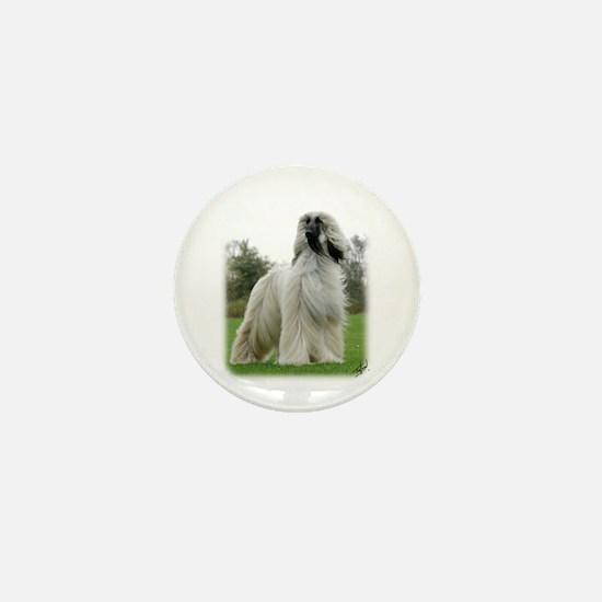 Afghan Hound 9Y247D-025 Mini Button