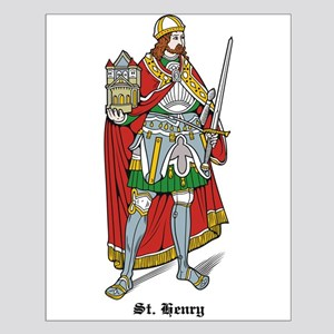 St. Henry Small Poster