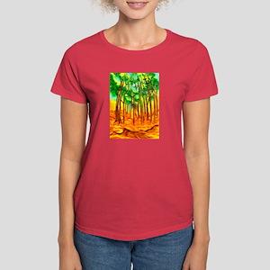 Incandescent Forest Women's Dark T-Shirt