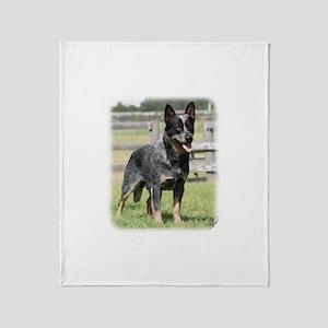 Australian Cattle Dog 9Y749D-017 Throw Blanket