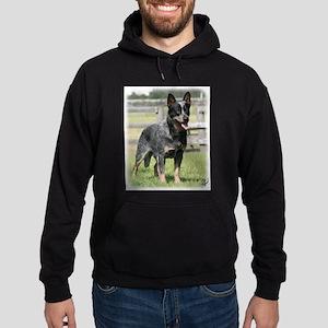 Australian Cattle Dog 9Y749D-017 Hoodie (dark)