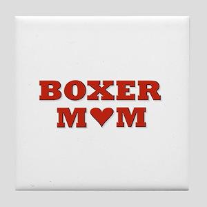 Boxer Mom! Tile Coaster