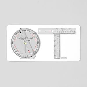OT Goni Design Aluminum License Plate