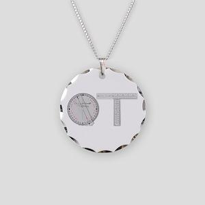 OT Goni Design Necklace Circle Charm