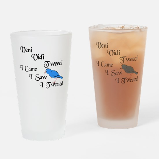 Cool Veni vidi vici Drinking Glass