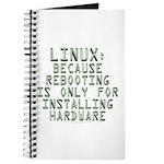 Linux. Because rebooting... Journal