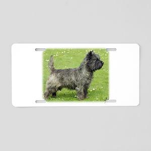 Cairn Terrier 9Y004D-024 Aluminum License Plate
