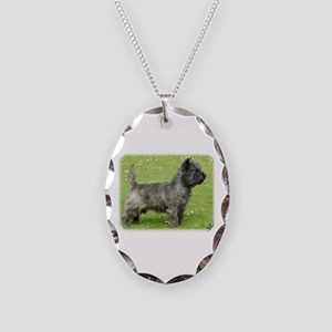Cairn Terrier 9Y004D-024 Necklace Oval Charm
