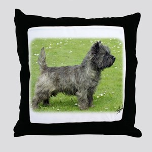 Cairn Terrier 9Y004D-024 Throw Pillow