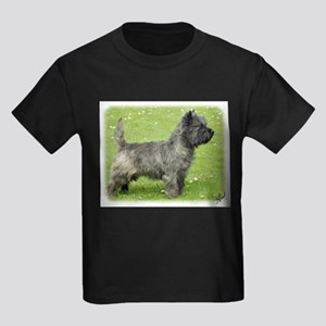 Cairn Terrier 9Y004D-024 Kids Dark T-Shirt