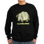 Baaaa Means Nooo! Sweatshirt (dark)