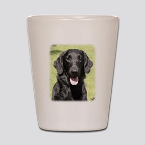 Flat Coated Retriever 9Y040D-040 Shot Glass