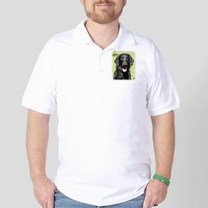 Flat Coated Retriever 9Y040D-040 Golf Shirt