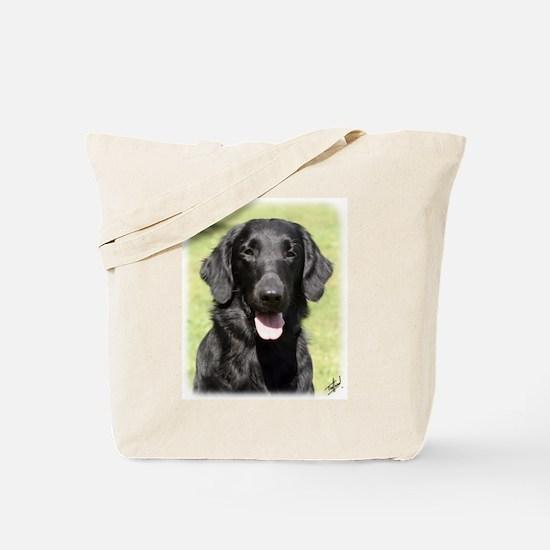 Flat Coated Retriever 9Y040D-040 Tote Bag