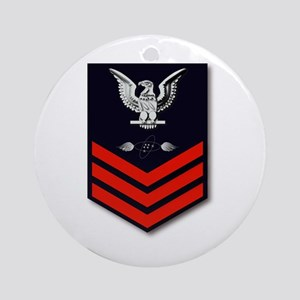 Aviation Electrical Technician Ornament (Round)