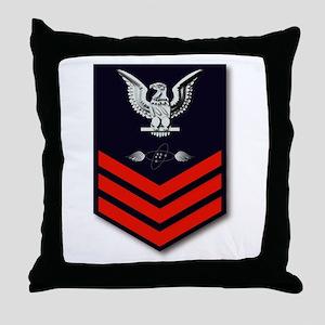Aviation Electrical Technician Throw Pillow