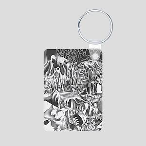 Madison Aluminum Photo Keychain