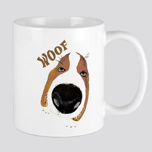 Big Nose Says Woof Mug
