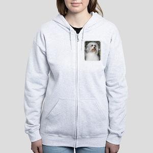 Lowchen 9Y400D-088 Women's Zip Hoodie