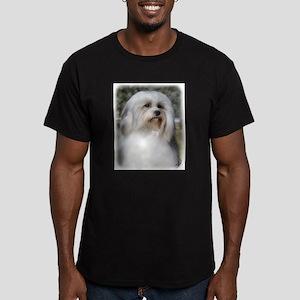 Lowchen 9Y400D-088 Men's Fitted T-Shirt (dark)