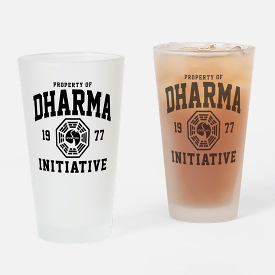 Dharma Initiative Drinking Glass