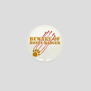 New SectionBeware of honey ba Mini Button