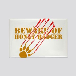 New SectionBeware of honey ba Rectangle Magnet