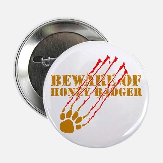 "New SectionBeware of honey ba 2.25"" Button (10 pac"