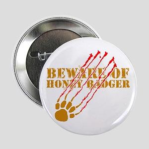"New SectionBeware of honey ba 2.25"" Button"