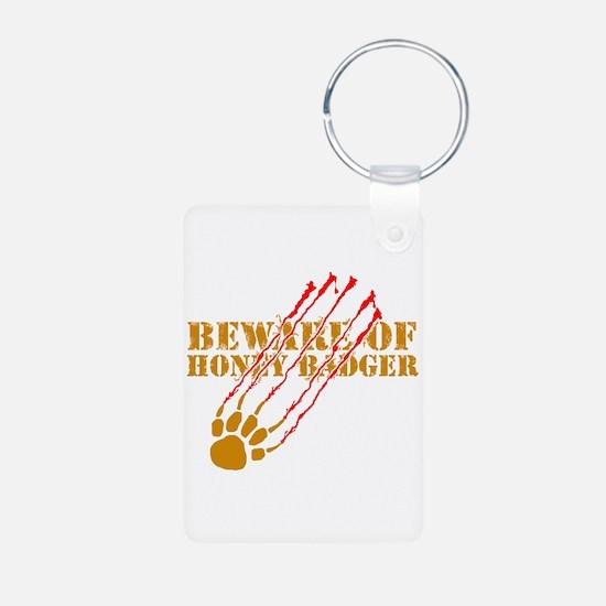 New SectionBeware of honey ba Keychains