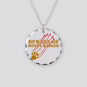 New SectionBeware of honey ba Necklace Circle Char