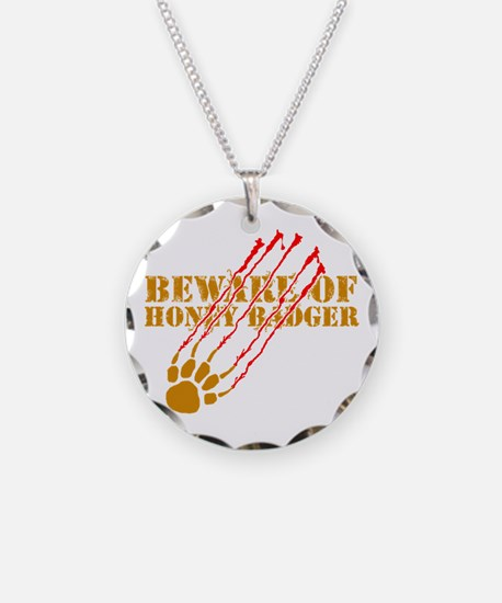New SectionBeware of honey ba Necklace