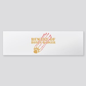 New SectionBeware of honey ba Sticker (Bumper)