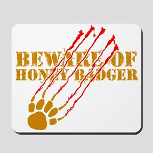 New SectionBeware of honey ba Mousepad