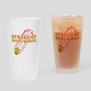 New SectionBeware of honey ba Drinking Glass