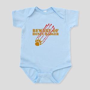 New SectionBeware of honey ba Infant Bodysuit