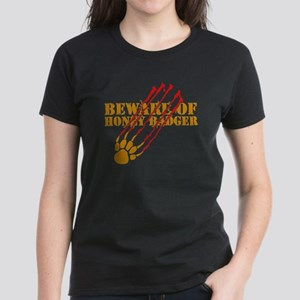 New SectionBeware of honey ba Women's Dark T-Shirt