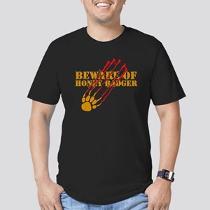 New SectionBeware of honey ba Men's Fitted T-Shirt