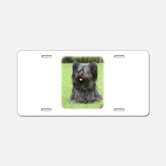 Skye Terrier 9Y766D-031 Aluminum License Plate