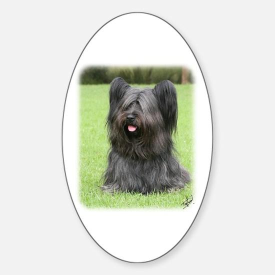 Skye Terrier 9Y766D-031 Sticker (Oval)